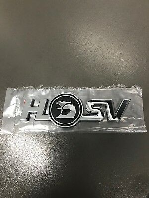 Hsv Corporate Logo Badge Brand New Genuine Holden Maloo Xu6 Clubsport Gts Vt Vx