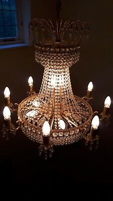Gorgeous, Classic Empire Style Ceiling Light Chandelier with 16 lights