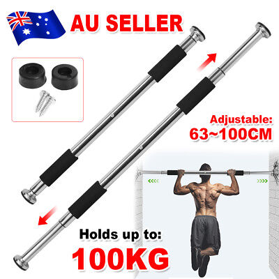 Portable Chin Up Bar Pullup Doorway Exercise Home Gym Workout Fitness Equipment