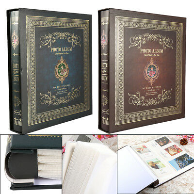 "Large Ringbinder Photo Album 500 Photos Memories Design Holds 500 6x4"" Photos UK"