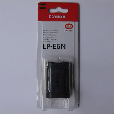 LP-E6N Battery For Canon EOS 5D Mark II III 70D 60D 60Da 5D 6D 7D LPE6N E6N