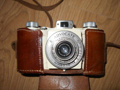 Ilford  Advocate white enamel camera