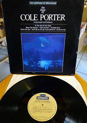 LP IRVING JOSEPH & His Orchestra - The Music Of Cole Porter  ITALY 1980 VINYL