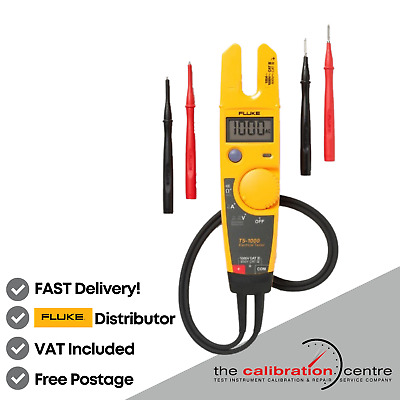 Genuine Fluke T5-1000 Voltage Continuity Current Electrical Tester