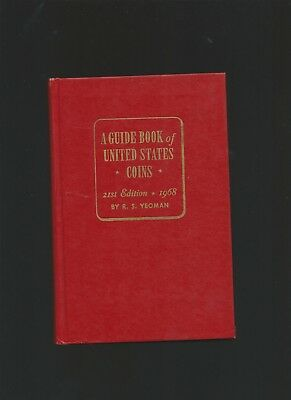 1968 21ST EDITION RED BOOK by R.S. YEOMAN