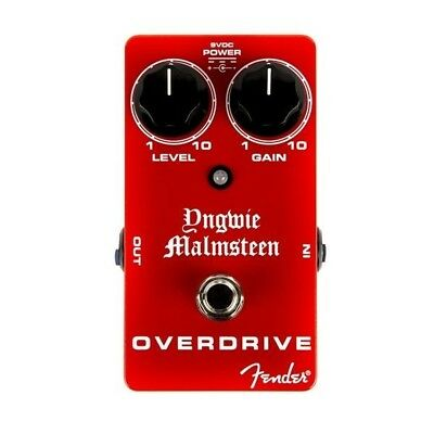 NEW - Fender Yngwie Malmsteen Overdrive Pedal, #023-4507-000