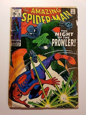 The Amazing Spider-Man #78 First Printing