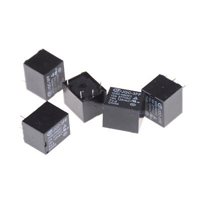 5Pcs 12VDC SRD-S-112DM 15A 125VAC 4Pins Coil Power Relay se