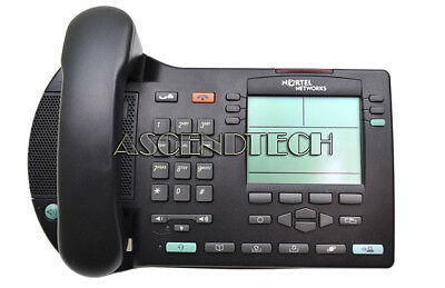 Nortel I2004 Ip Charcoal Professional Business Display Telephone Ntdu82Aa70 Usa