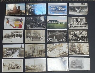 Vintage Postcards - 1900-1920 - LOT of 89 - Many Real Photo Cards - #561L