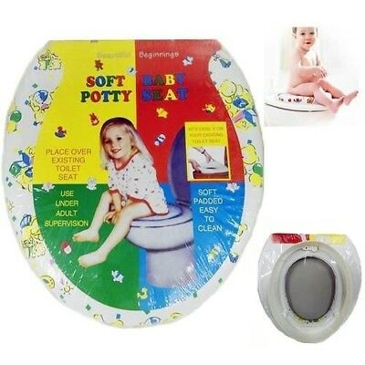 Baby Soft Padded Potty Training Toilet Seat for kids, Toddler