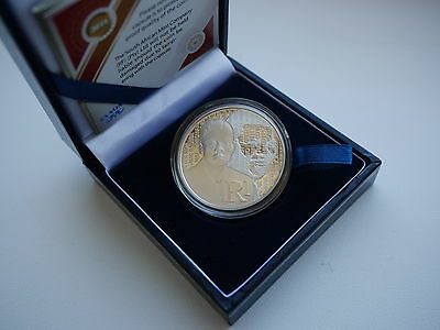 South Africa 1 Rand 2015 Protea Mandela, Proof Silver Coin