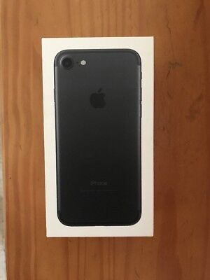 Apple iPhone 7 RETAIL BOX ONLY BLACK 32GB
