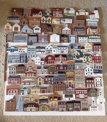 HUGE AMAZING! 106 Cat's Meow Village Collectible Assorted Collection FREE SHIP
