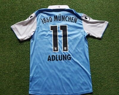 TSV 1860 München Trikot M 13/14 Uhlsport Shirt Think Blue ( 11 Adlung )