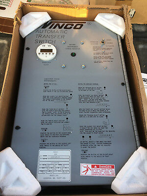 Winco Automatic Transfer Switch 110/60 Ats 3/b Back Up Household Generator
