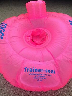 Zoggs pink swimseat age 12-18 months
