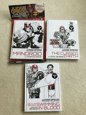 judge dredd mega collection Issues 6 8 And 9