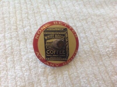 Vintage Advertising White House Coffee toy top