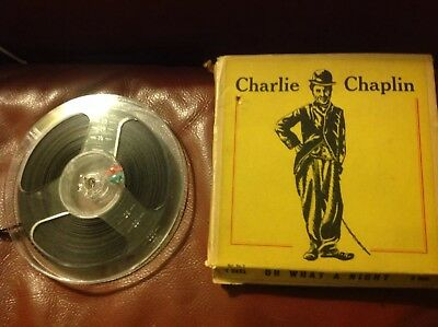 Vintage Standard 8mm Home Cine Film Reel Charlie