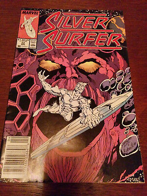 Silver Surfer #22 dated 1989