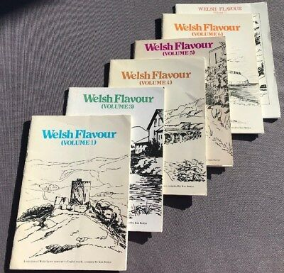 Welsh Flavour ed. Ken Battye, 6 vols, Welsh hymn tunes set to English words