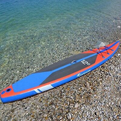 SUP Race Board VIAMARE 380 cm inflatable / Stand up Paddleboard aufblasbar