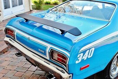 Plymouth Duster Spectacular  Broadcast Sheet Low Miles Factory A/C must be seen 1973 duster 340 Factory A/C Believed 21k Original Miles Power Steering & Brakes