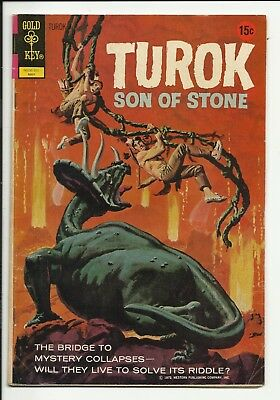 Turok, Son of Stone #78 - Andar - painted cover - Gold Key - FN- 5.5