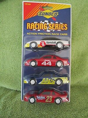 Sunoco Racing Series 1999 Four Car Set  #83 Planters Peanuts,#44 Slim Jim, #23 T