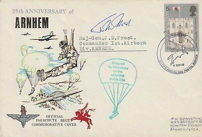 Military Cover Signed Maj Gen John Frost 1912-93 The Andrew Swanston Collection