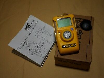 Brand New, Not activated - BWC2-H GasAlertClip Monitor Hydrogen Sulfide (H2S)