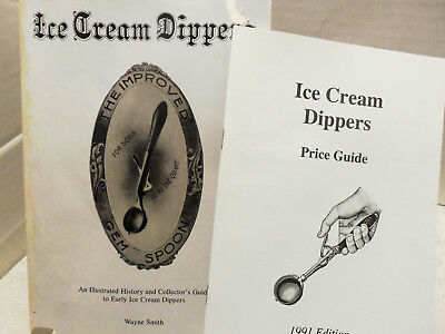 """Price Guide Ice Cream Scoops """"Ice Cream Dippers"""" Book"""