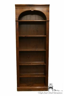 ETHAN ALLEN Antiqued Pine Old Tavern 30? Bookcase Wall Unit 12-9016