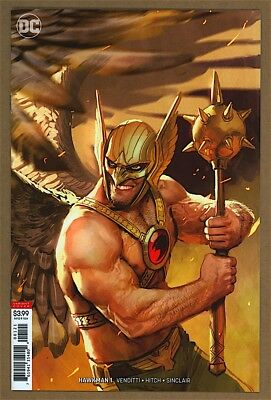 Hawkman #1 9.6 NM+ DC 2018 Stjepan Sejic Cover 9.8 Candidate
