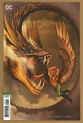 Hawkman #2 9.6 NM+ DC 2018 Stjepan Sejic Cover 9.8 Candidate