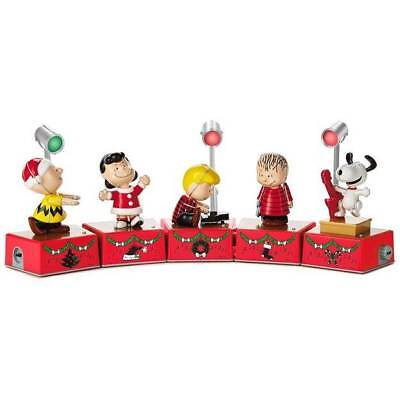 Hallmark 2017 Peanuts Christmas Dance Party Collector's Set Special Edition
