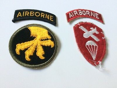 Wwii U. S. Army 17Th Airborne Division And 550Th Parachute Infantry Battalion Wi