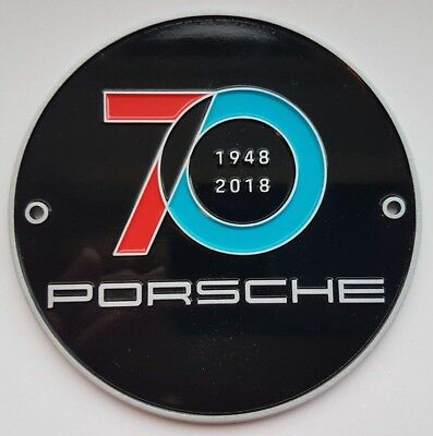 Porsche Grill Badge 70th Anniversary Limited Edition Wap0507100k 70 Year