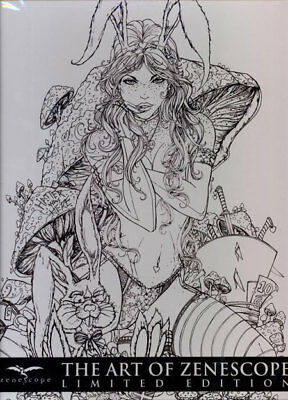 ART OF ZENESCOPE LIMITED EDITION SLIPCASED VOL #2 HARDCOVER Grimm Fairy Tales HC