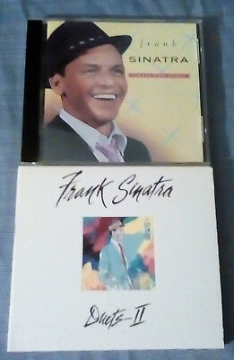 Lot of 2 CDs  Frank Sinatra Collector's Series &  Duets 2