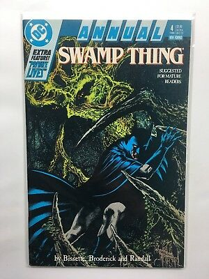 Swamp Thing Annual #4  Dc Comic Book 1988