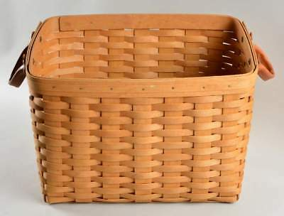 Longaberger Newspaper Basket LINER- oatmeal