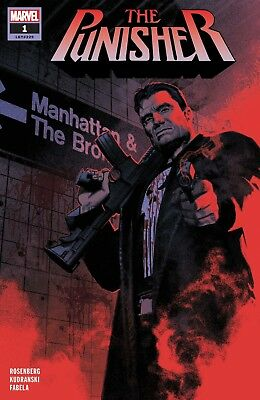 The Punisher #1(Lgy #229) - 1St Print - Marvel - Bagged & Boarded. Free Uk P+P