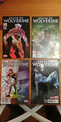 Death of Wolverine Marvel Comics - 1-4 Great Condition Free Shipping