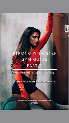 NEW!!! Stef Fit /STRONG WITH STEF PART 2 /8 week full & core guide