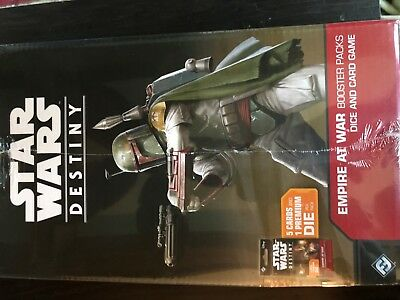 Star Wars Destiny - Empire at War Booster Box Factory Sealed Brand New 36ct FFG