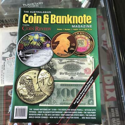Australasian Coin & Banknote CAB Magazine Vol 17 No 2 March 2014 Coin Review