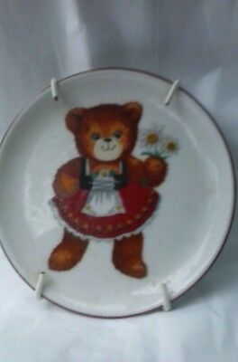 Adorable W. Germany Lucy & Me Wannabee Collectible Mini Plate