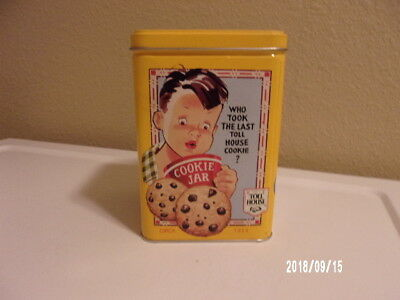 Vintage Toll House Cookie Tin